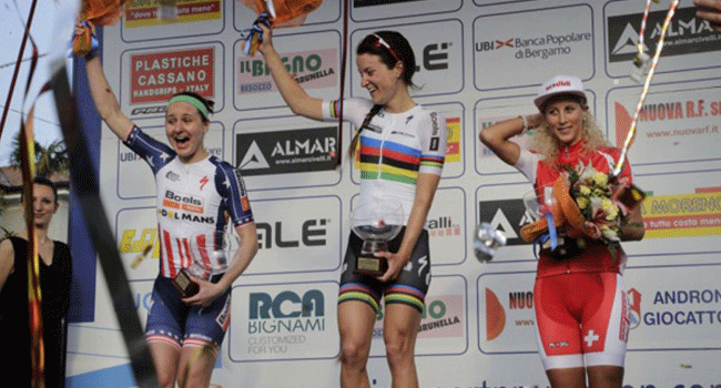 ranking mundial del ciclismo femenino